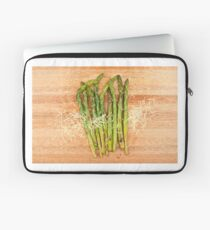 Grilled asparagus and parmesan cheese Laptop Sleeve