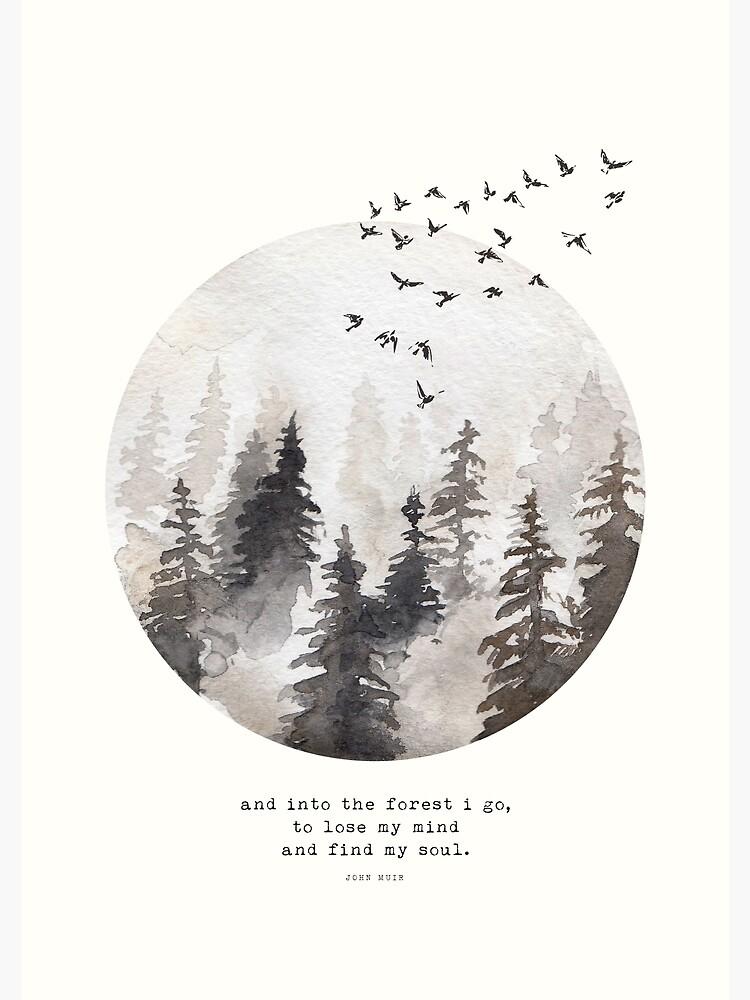 Into The Forest I Go by wolfandbird