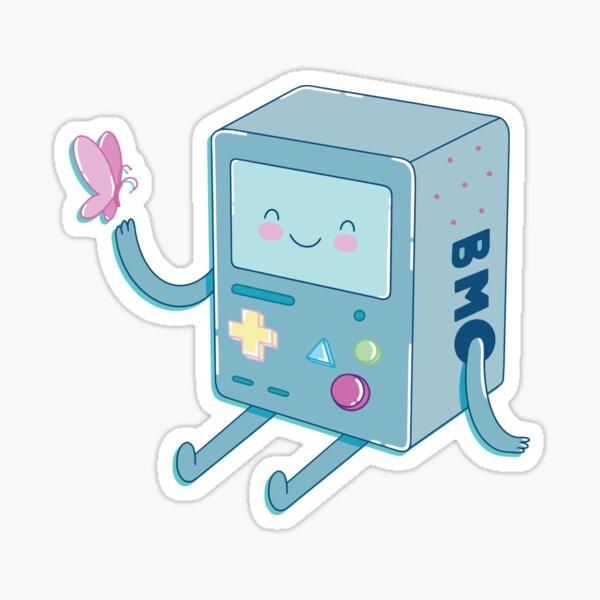 Bmo & Butterfly (Adventure Time) Sticker