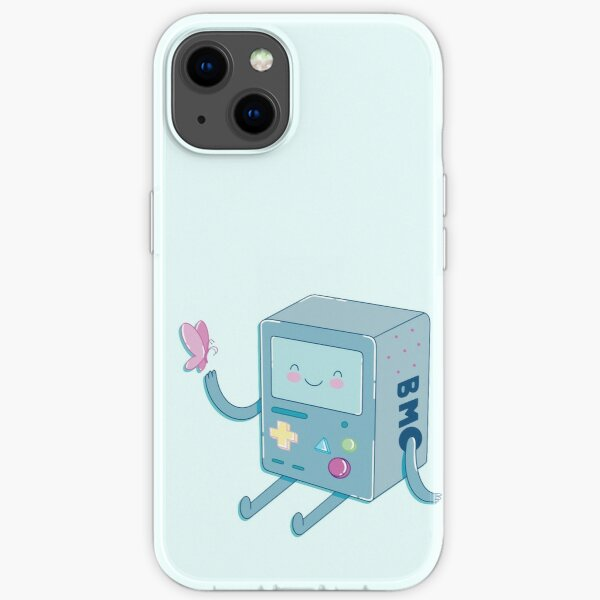 Bmo & Butterfly (Adventure Time) iPhone Soft Case