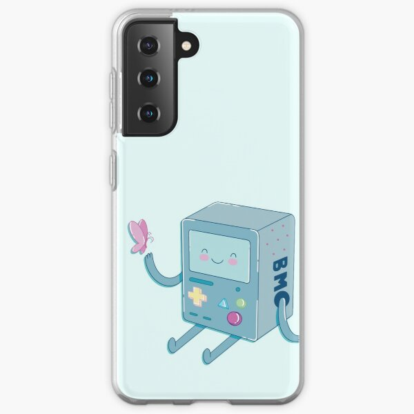 Bmo & Butterfly (Adventure Time) Samsung Galaxy Soft Case