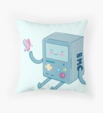 Bmo & Butterfly (Adventure Time) Floor Pillow