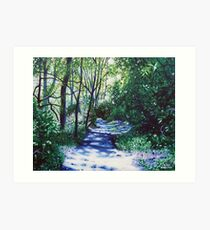 'There Be Light Around the Bend' Art Print