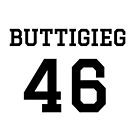 Buttigieg #46 (for lighter color shirts) by TVsauce