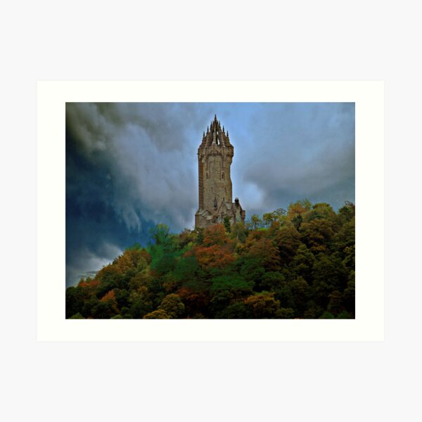 The Wallace Monument Art Print