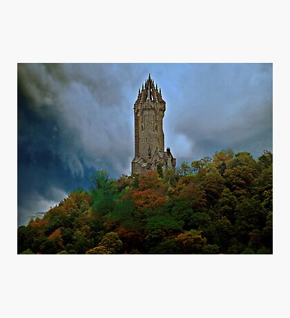 The Wallace Monument Photographic Print