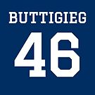 Buttigieg #46 (for darker color shirts) by TVsauce