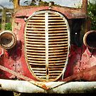 Rusting Ute by Eve Parry