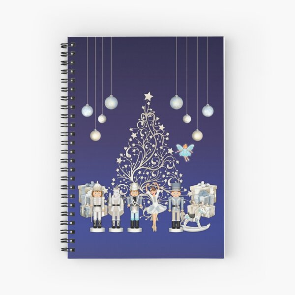 Nutcracker Christmas Special - The Nutcracker Ballet Scene - Nutcracker Story on Christmas eve Spiral Notebook