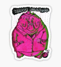 BUCK MELANOMA Sticker