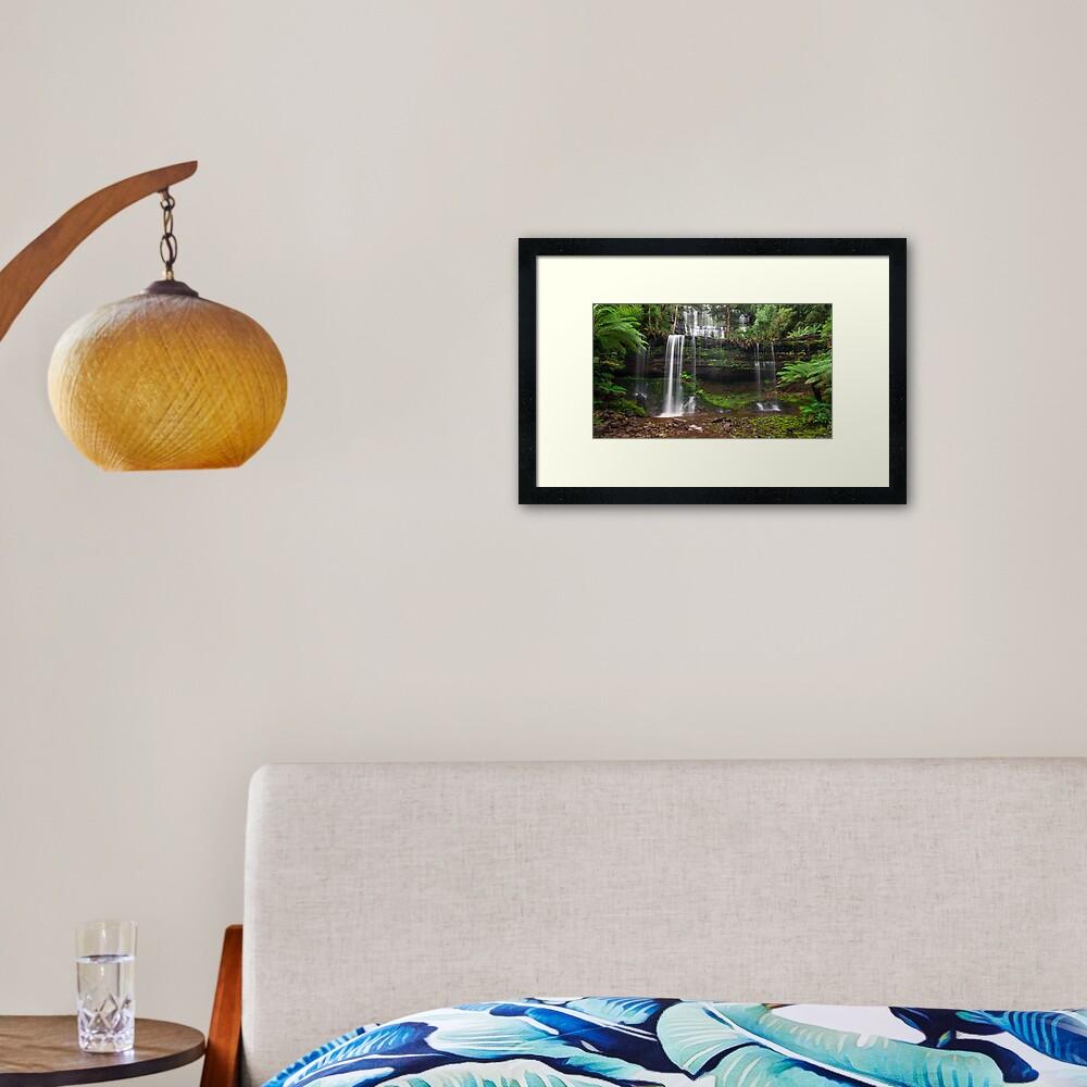 Russell Falls, Mt Field NP Framed Art Print