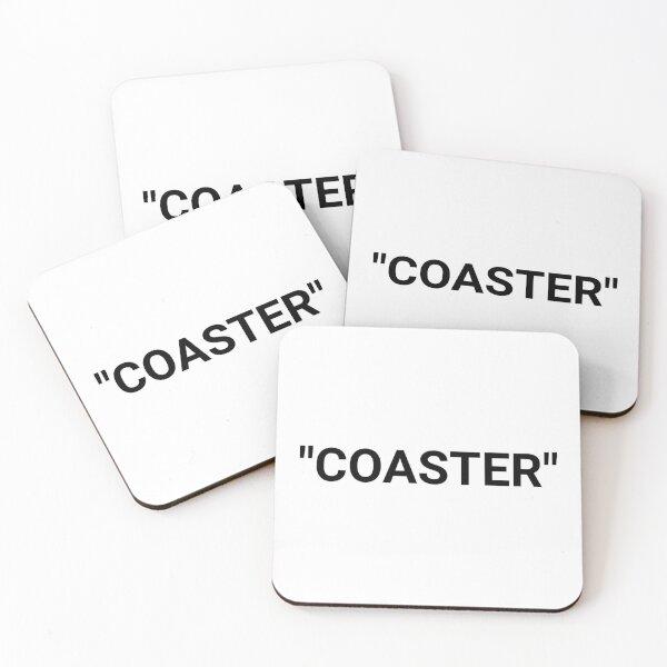 Coaster Quotation Marks Coasters (Set of 4)