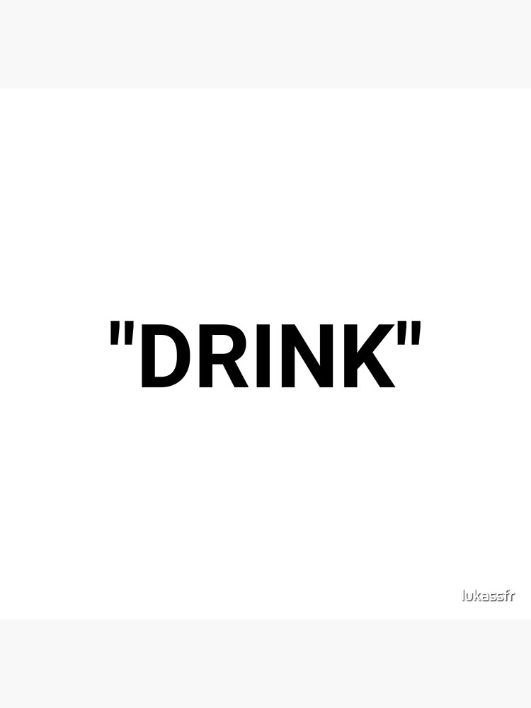Drink Quotation Marks by lukassfr