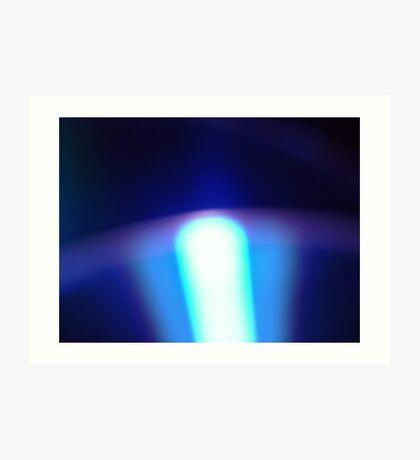 03-16-11:  Information Glow Art Print