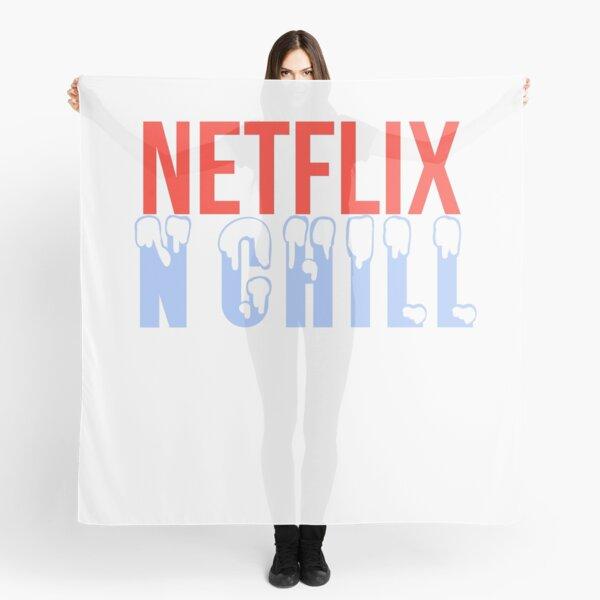 NETFLIX N CHILL Scarf