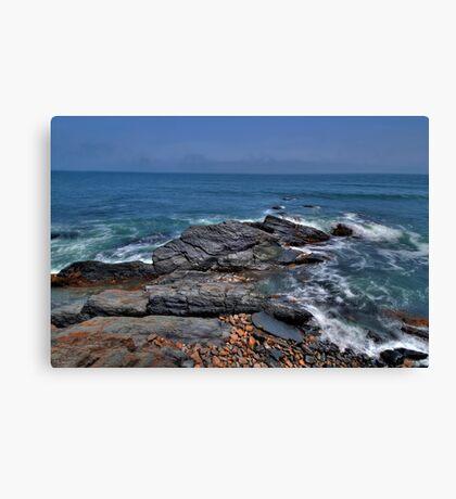 Rocky Shore- Newport Canvas Print