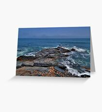 Rocky Shore- Newport Greeting Card
