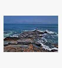 Rocky Shore- Newport Photographic Print
