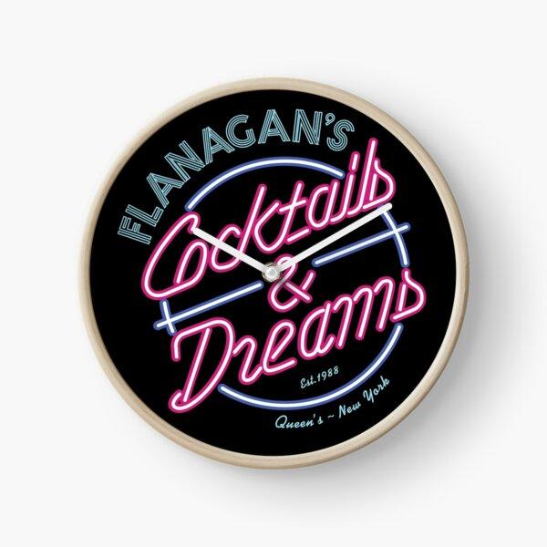 Flanagan's - Cocktails & Dreams Clock
