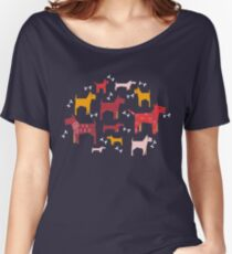 Dogs Funny Women's Relaxed Fit T-Shirt