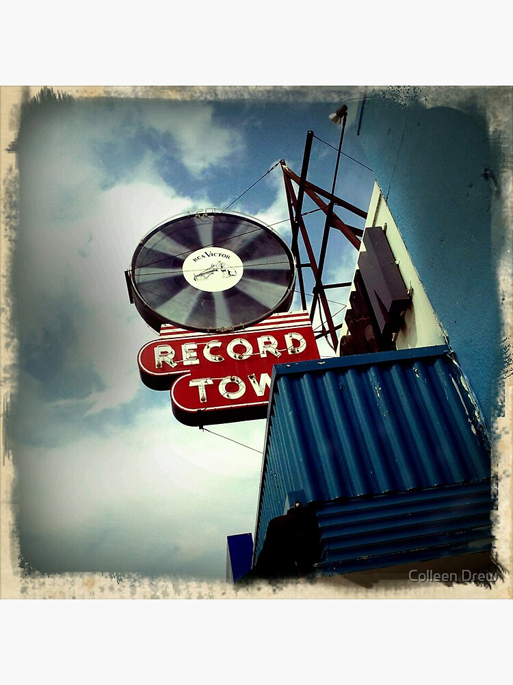 Record Town by colgdrew