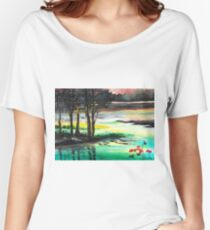 Flow of time Women's Relaxed Fit T-Shirt