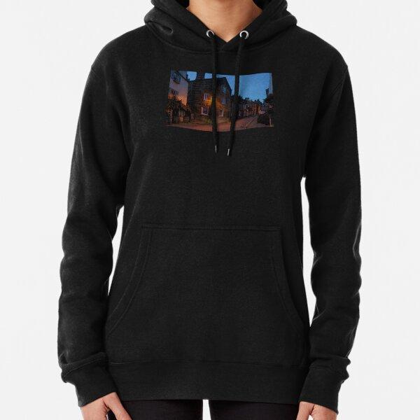 Robin Hoods Bay - Evening Glow Pullover Hoodie