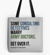 Some Consulting Detectives... Tote Bag
