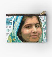 Malala Yousafzai -   Zipper Pouch