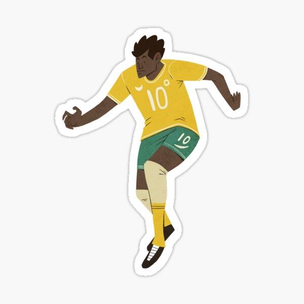 Fußballer Nr. 2 Sticker