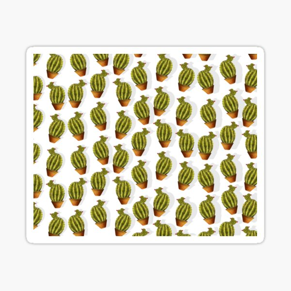 Mini cactus Sticker