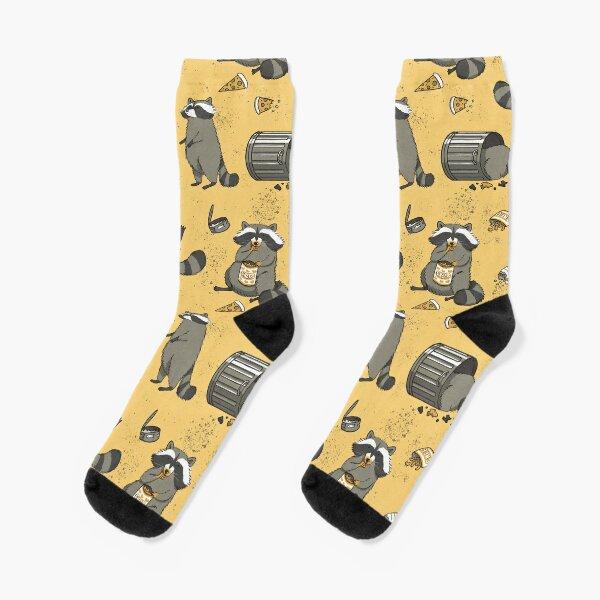 Rascally Raccoons Socks