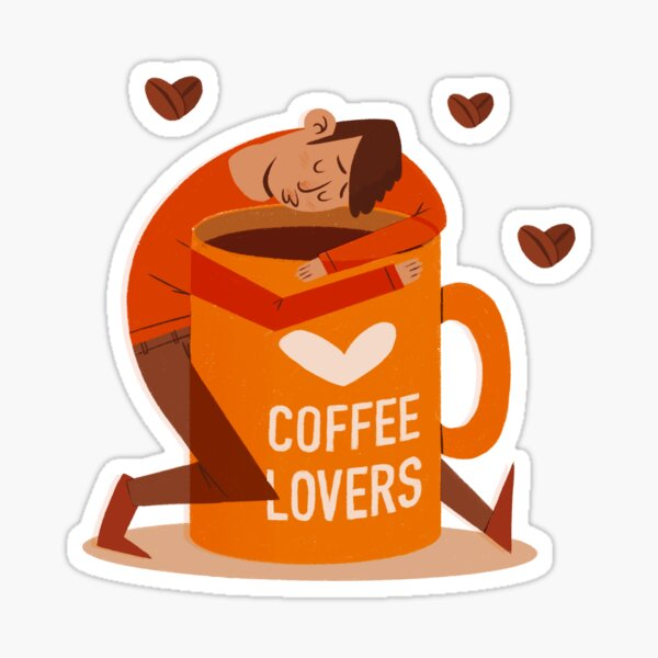 Coffee Lovers Sticker
