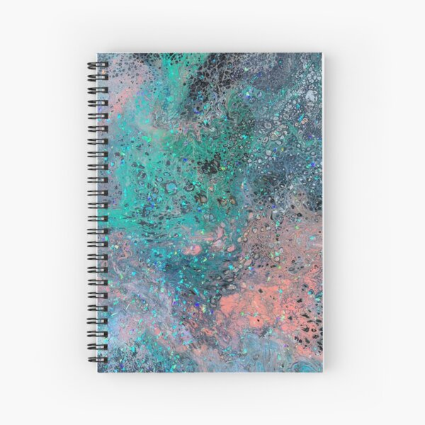 Cotton Candy Nebula Spiral Notebook