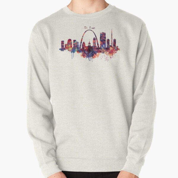 St Louis Skyline Pullover Sweatshirt