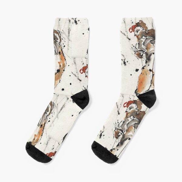 Egon Schile Nude 3 Socks