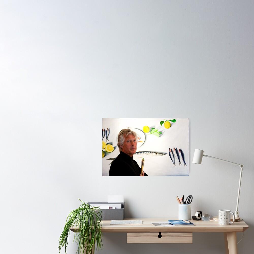 Alan Hydes Artist Poster