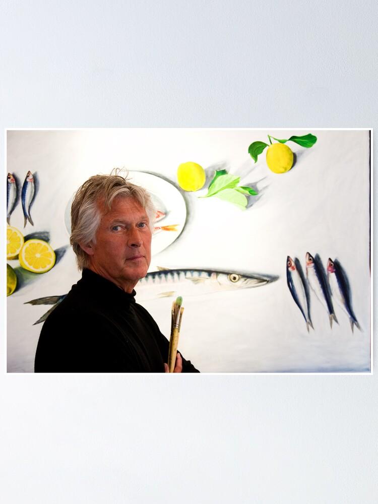 Alternate view of Alan Hydes Artist Poster