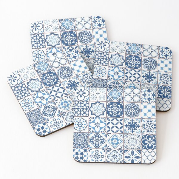 Portuguese Azulejos Coasters (Set of 4)