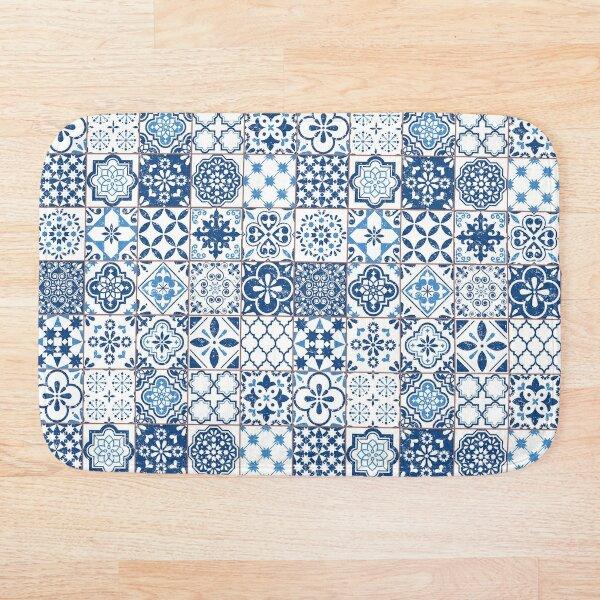 Portuguese Azulejos Bath Mat