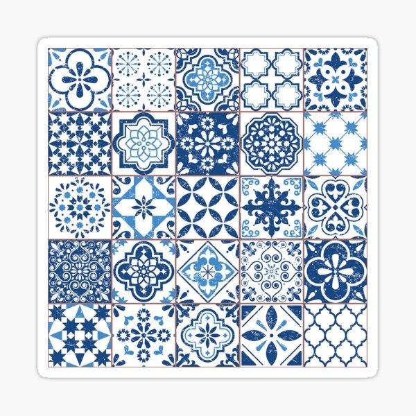 Portuguese Azulejos Sticker