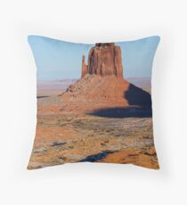 Right Mitten Throw Pillow