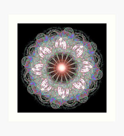 Mandala Flower Art Print