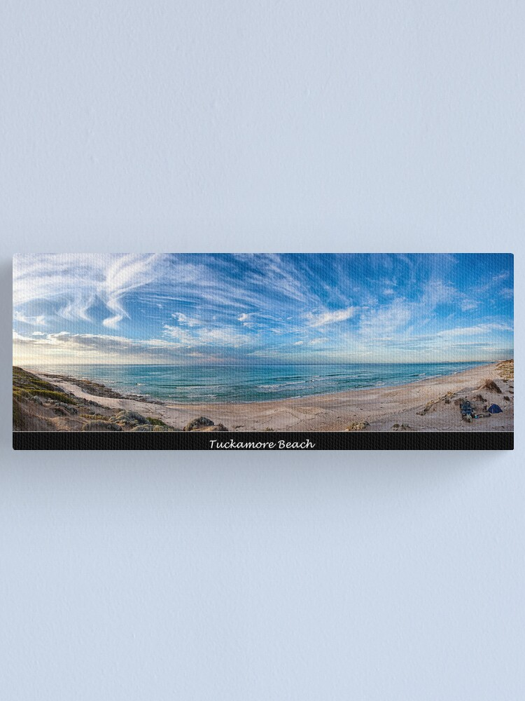 Alternate view of Tuckamore Beach. Canvas Print