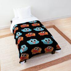 Darwin And Gumball Comforter
