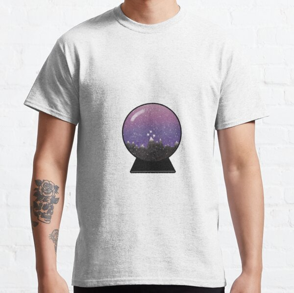 Night Court Mountain Snowglobe Classic T-Shirt