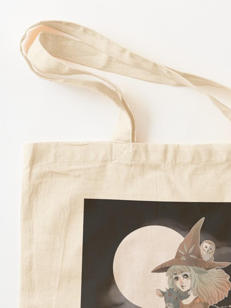 Alternate view of Happy Samhain 2019 Tote Bag