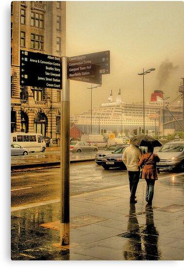 A Big Ship In Town by patrixpix
