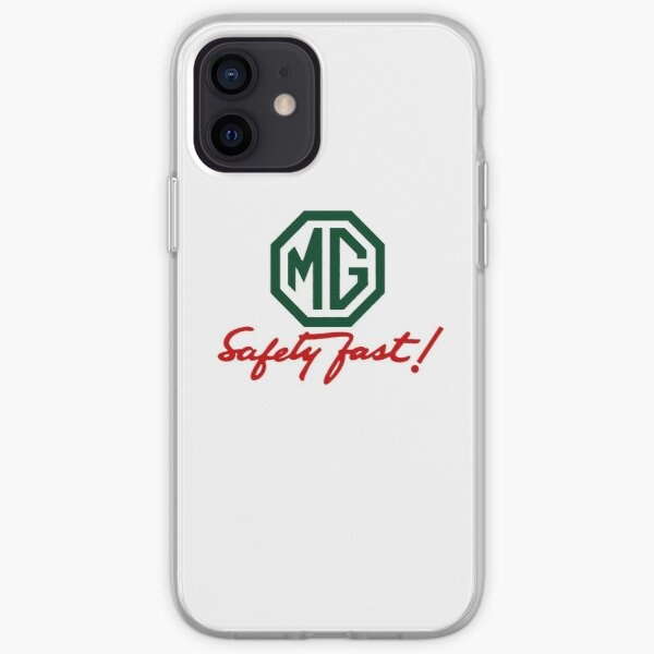 MG Safety Fast iPhone Soft Case