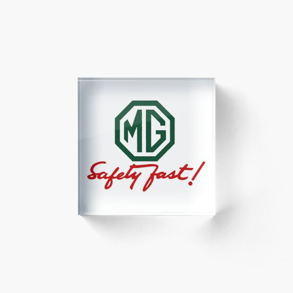 MG Safety Fast Acrylic Block
